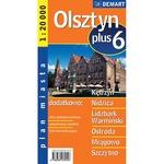 City Plus Maps - OLSZTYN plus 6 other cities