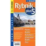 City Plus Maps - RYBNIK plus 5 other cities