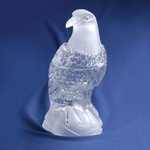 Clear Crystal - Eagle Candy Jar, 9 inches Tall