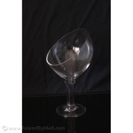 Clear Glass Tumbler - Ice Series, 12 inches Tall