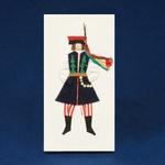 Cloth Figure Greeting Card - Krakow, Male
