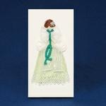 Cloth Figure Greeting Card - Zywiec, Female