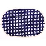 Cotton Placemats in Boleslawiec Pattern - Dots, 2 pcs Set