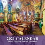 2020-21 Poland Churches Wall Calendar - 16 Months, 11 x 11