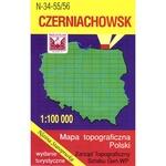Czerniachowsk Region Map