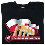 Drinking Team Flag - Adult T-Shirt