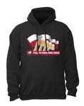 Drinking Team Flag - Adult Sweatshirt Hoodie