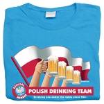 Drinking Team Flag - Women's T-Shirt