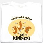 Eat Kielbasa - Adult Long Sleeve Tee