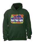 Eat Pierogis - Adult Sweatshirt Hoodie