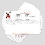 Favorite Gloss Coat Polish Recipe Cards, Set of 11