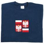 Flag & Shield of Poland - Adult Long Sleeve Tee