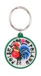 Flexible Keychain - Folk Art: Rooster