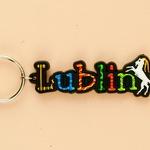 Flexible Keychain - Lublin, City Name