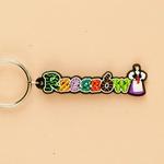 Flexible Keychain - Rzeszow, City Name