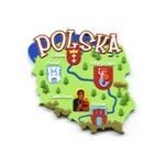 Flexible Magnet - Poland Map