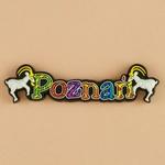 Flexible Magnet - Poznan, City Name
