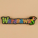 Flexible Magnet - Warsaw, City Name