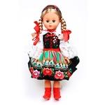 Folk Doll from Mazowsze Lowicz Region
