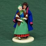 Folk Doll - Kaszuby, Couple 5.4 inches
