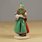 Folk Doll - Kaszuby, Female 4.75 inches