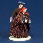 Folk Doll - Kielce, Couple 5.25 inches