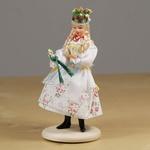 Folk Doll - Krakow, Wedding Bride 4.75 inches