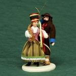 Folk Doll - Kurpie, Couple 5.0 inches