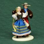 Folk Doll - Podlaski, Couple 5.0 inches