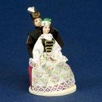 Folk Doll - Slask, Couple 5.4 inches