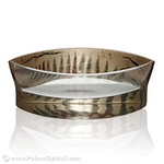 Glass Bowl - Fern Series, 8 inches Long