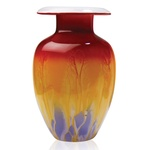 Glass Vase - 1950 Retro Series, 10 inches Tall