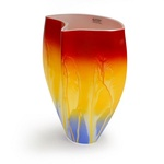 Glass Vase - 1950 Retro Series, 9 inches Tall