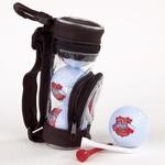 Golf Balls & Tees - Mini Golf Bag Set