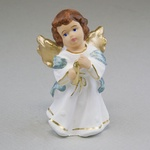 Gypsum Figure - Little Candle-bearer Angel