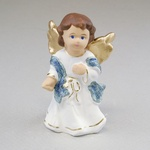 Gypsum Figure - Little Singing Angel