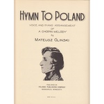 Hymn to Poland with Song Sheet Music (Bilingual)