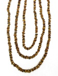 Incredibly Long Pure Tri-Colored Amber Necklace, 70 inches