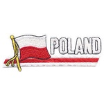 Iron-On Patch - POLAND Flag