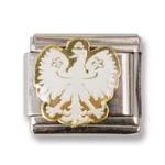 Italian Charms - Polish White Eagle