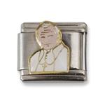 Italian Charms - Pope John Paul II