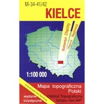 Kielce Region Map