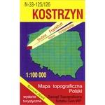 Kostrzyn Region Map