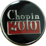 Lapel Pin - Chopin, 2010 Anniversary