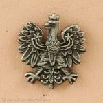 Lapel Pin - Polish Eagle, Small 0.4 inch