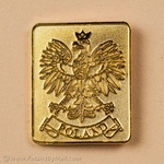 Lapel Pin - Sandblasted Polish Eagle