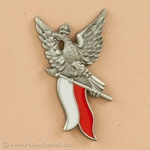 Lapel Pin - Soaring Polish Eagle