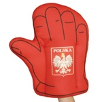 Large Foam Cheering Mitt - POLSKA