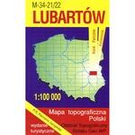 Lubartow Region Map