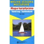 Map of the Great Masurian Lakes